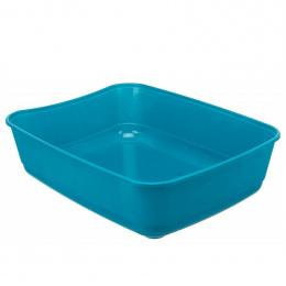 Туалет для кошек - Trixie, Classic cat litter tray, 36 x 12 x 46 см, petrol