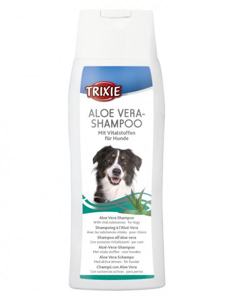 Шампунь для собак – TRIXIE Aloe Vera Shampoo, 250 мл title=