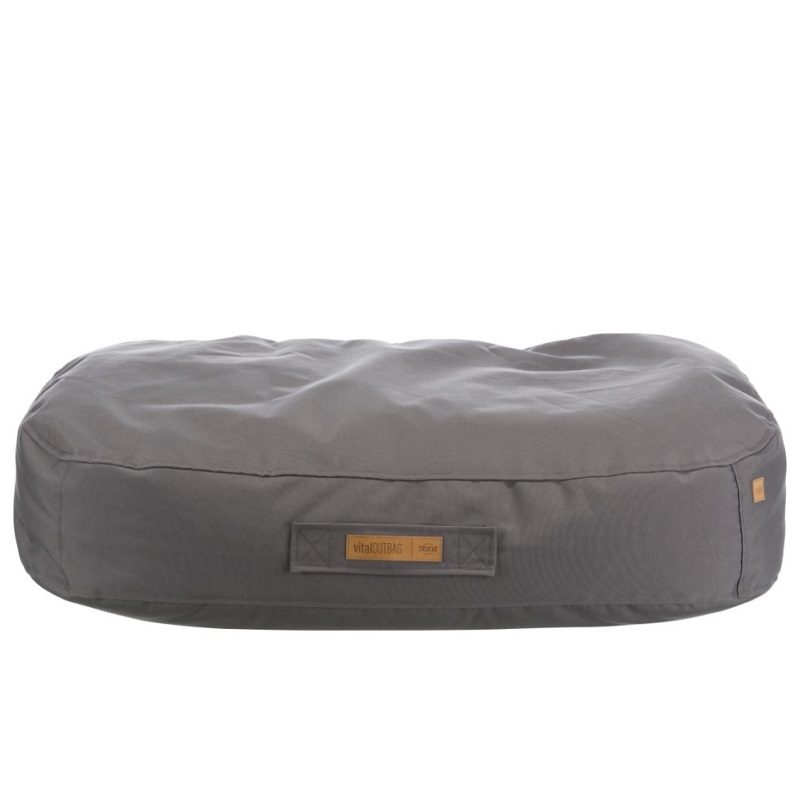 Лежанка для собак – TRIXIE, Outbag vital cushion, 138 x 120 см, Taupe