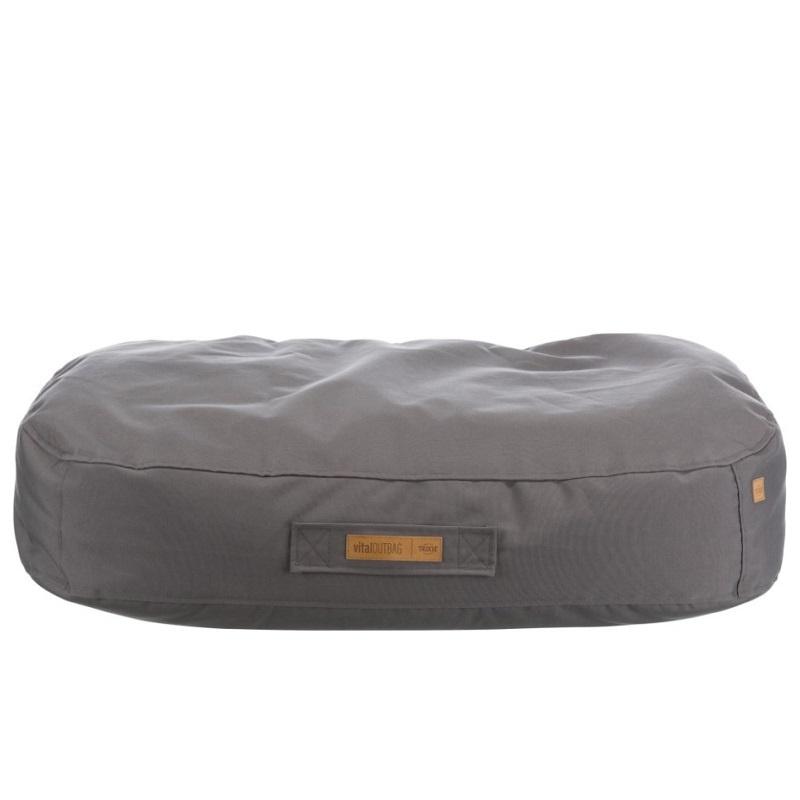 Лежанка для собак – TRIXIE, Outbag vital cushion, 90 x 60 см, Taupe