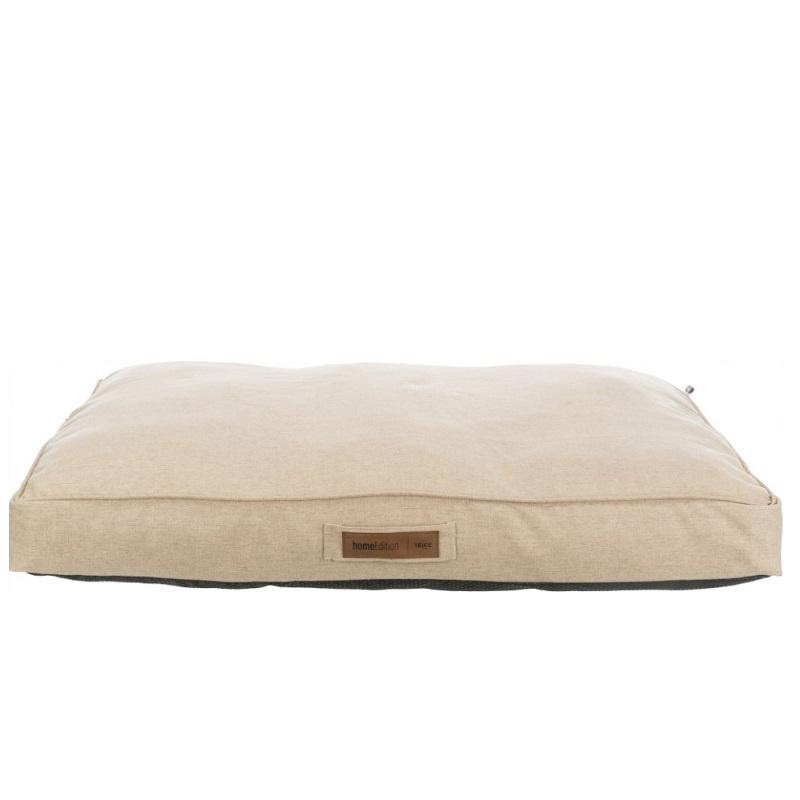 Лежанка для собак – TRIXIE, Lona cushion, square, 55 x 55 см, Sand