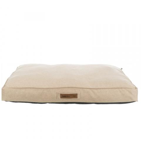 Лежанка для собак – TRIXIE, Lona cushion, square, 90 x 65 см, Sand title=