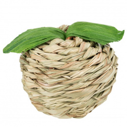 Rotaļlieta grauzējiem – Trixie, Apple with maize husk, grass, 7 cm