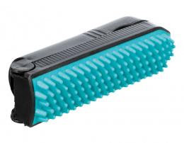 Щетка для чистки – TRIXIE, Lint roller with brush, orange/black, 23 см