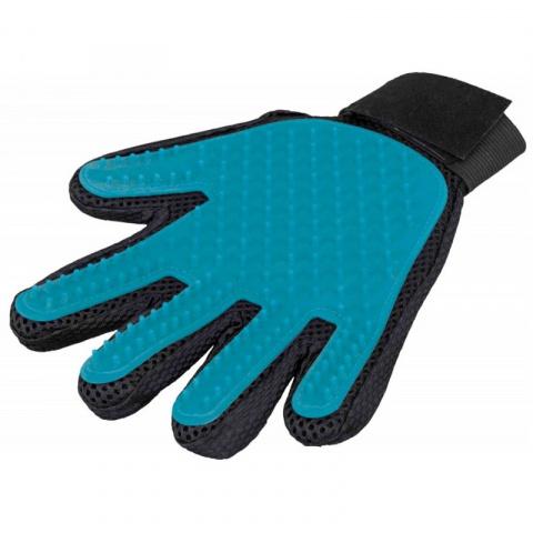 Ķemme, masāžas cimds – TRIXIE, Fur care glove, 16 x 24 cm title=