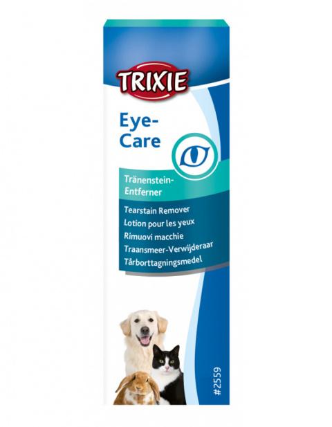 Asaru traipu noņemšanas līdzeklis – TRIXIE Tearstain Remover, 50 ml title=