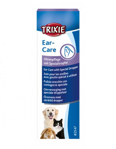 Līdzeklis ausu tīrīšanai – TRIXIE Ear cleaner, 50 ml title=