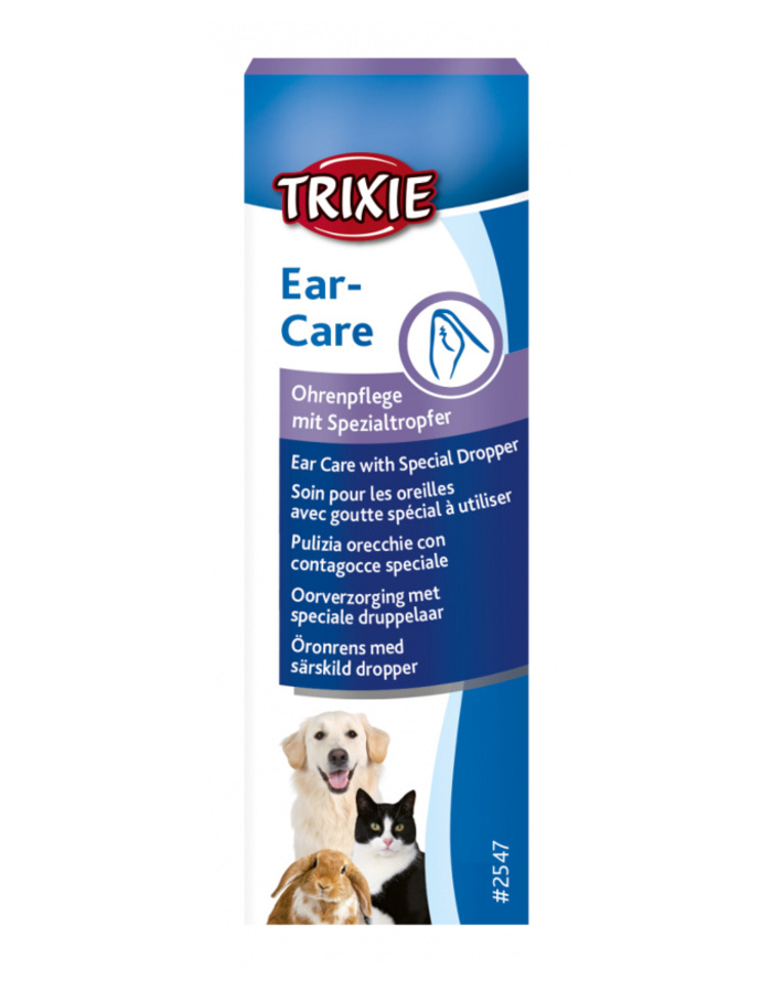 Средство для чистки ушей – TRIXIE Ear cleaner, 50 мл