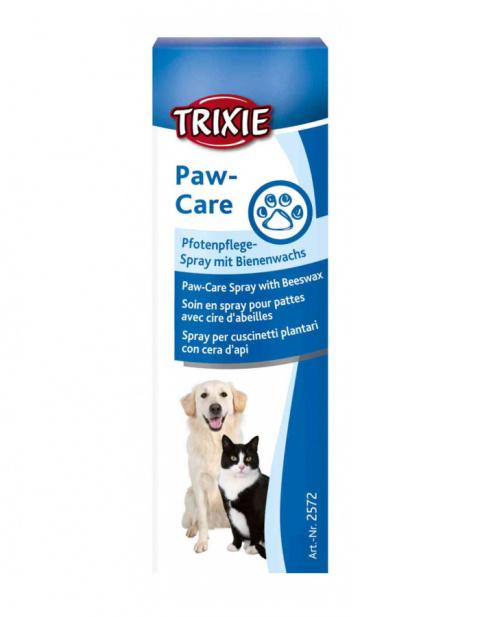 Līdzeklis dzīvnieku ķepu kopšanai – TRIXIE Paw Care Spray, 50 ml title=