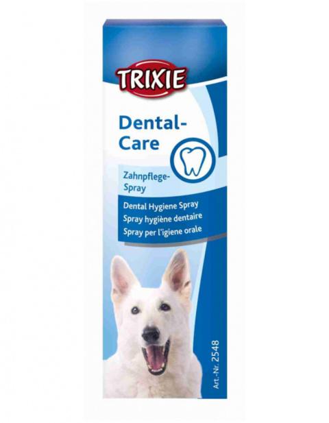Средство по уходу за зубами для собак – TRIXIE Dental Hygiene Spray, 50 мл title=