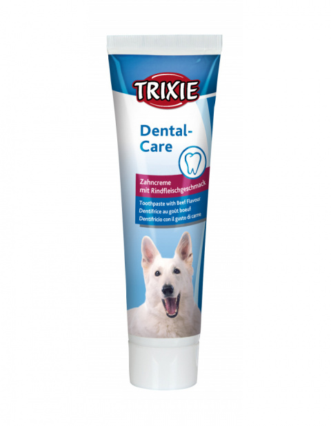 Зубная паста для собак – TRIXIE Toothpaste with Meat Flavour, 100 г title=