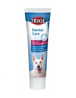 Зубная паста для собак – TRIXIE Toothpaste with Meat Flavour, 100 г