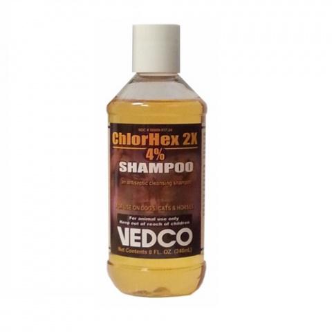 Шампунь для собак и кошек – ChlorHex Shampoo 4 %, 240 мл title=