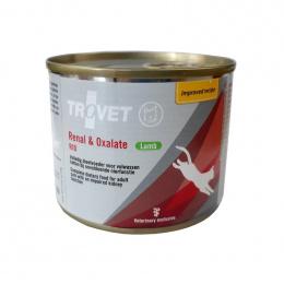 Ветеринарные консервы для кошек - Trovet RID Renal and Oxalate Lamb, 200 г