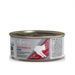 Veterinārie konservi kaķiem - Trovet RID Renal and Oxalate Chicken, 100 g