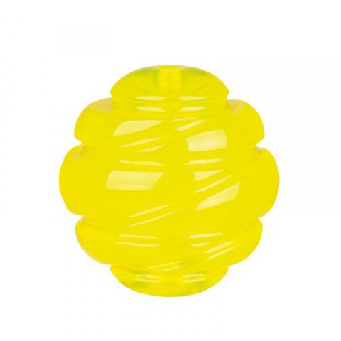 Игрушка для собак - Trixie, Sporting ball, floatable, TPS, 8 см, yellow title=