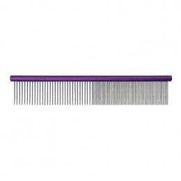 Расческа для собак - Groom Professional, Spectrum Aluminium Comb, Purple, 25 см