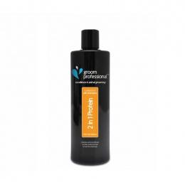 Шампунь для собак - Groom Professional, 2 In 1 Protein Shampoo, 450 мл
