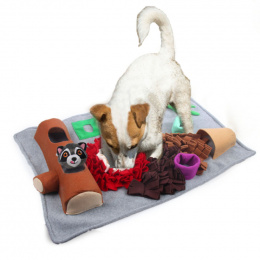 Rotaļlieta suņiem – AFP Dig It Rectangle Fluffy Mat With Cute Toy