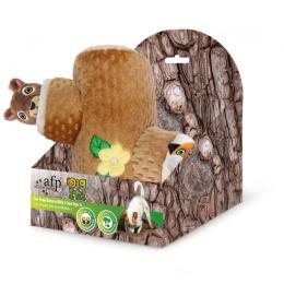 Игрушка для собак – AFP Dig It Tree Trunk Burrow With 2 Cute Toys, S