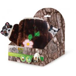 Игрушка для собак – AFP Dig It Tree Trunk Burrow With 2 Cute Toys, M