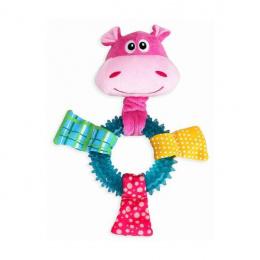 Rotaļlieta kucēniem – Pawise TPR Ring Hippo