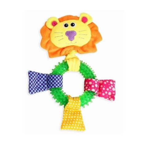 Игрушка для собак – Pawise TPR Ring Lion title=