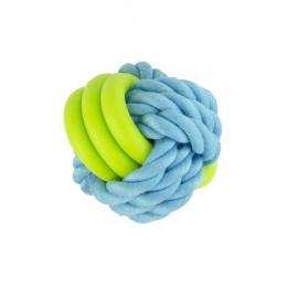Rotaļlieta suņiem – Pawise Twins rope ball, 7 cm