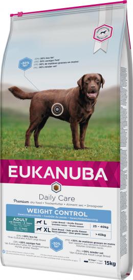 Diētiskā barība suņiem - Eukanuba Adult Light Large Breed, 15 kg