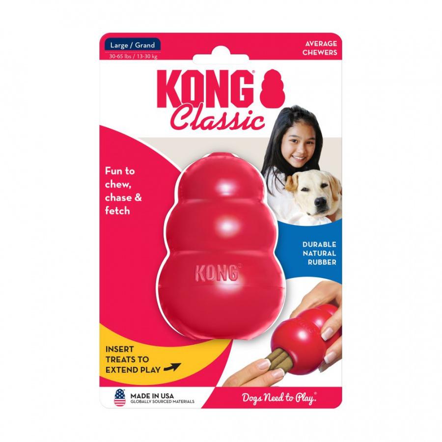 Игрушка для собак – KONG Classic, L, Red