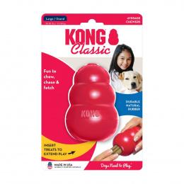 Rotaļlieta suņiem – KONG Classic, L, Red