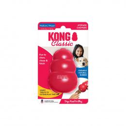 Rotaļlieta suņiem – KONG Classic, M, Red