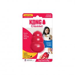 Игрушка для собак – KONG Classic, S, Red