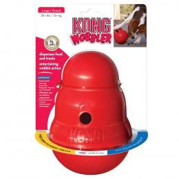 Rotaļlieta suņiem – KONG Wobbler, L, Red