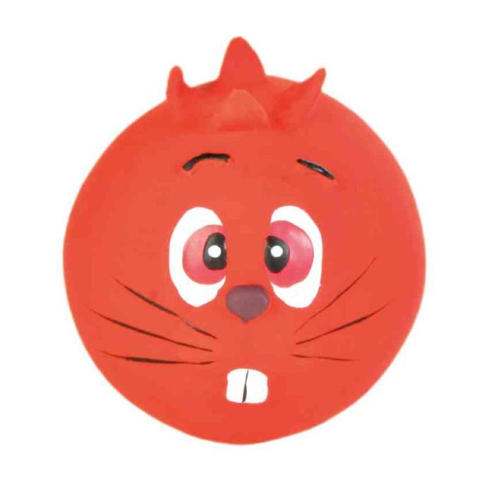 Rotaļlieta suņiem – TRIXIE Assortment Faces Toy Balls, Latex, 6 cm