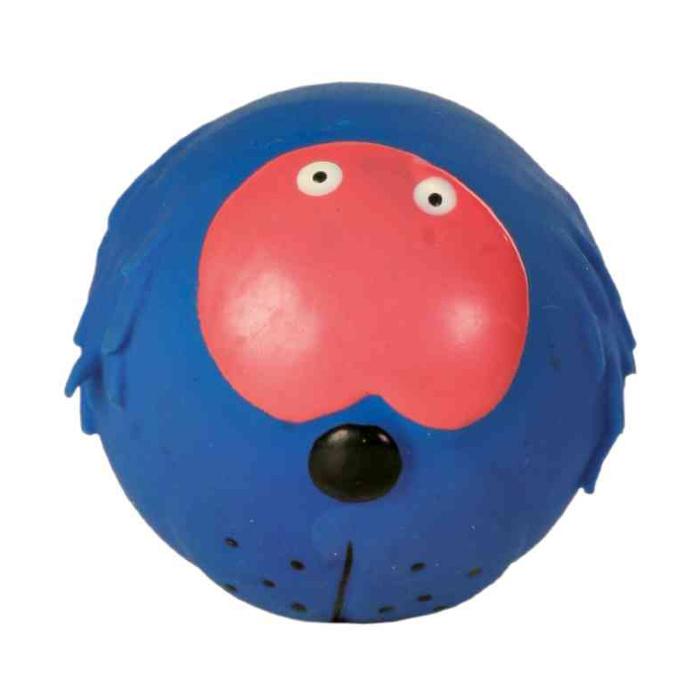 Игрушка для собак – TRIXIE Assortment Faces Toy Balls, Latex, 6 см
