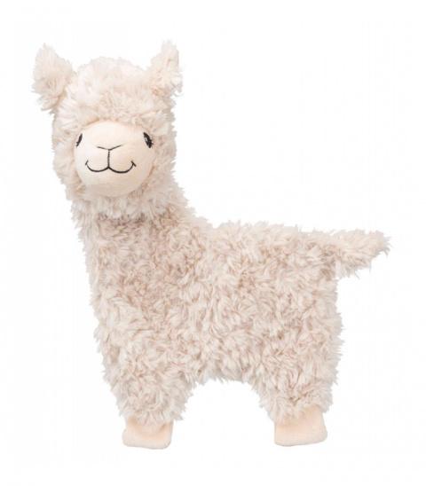 Игрушка для собак – TRIXIE Lama, plush, 40 см title=