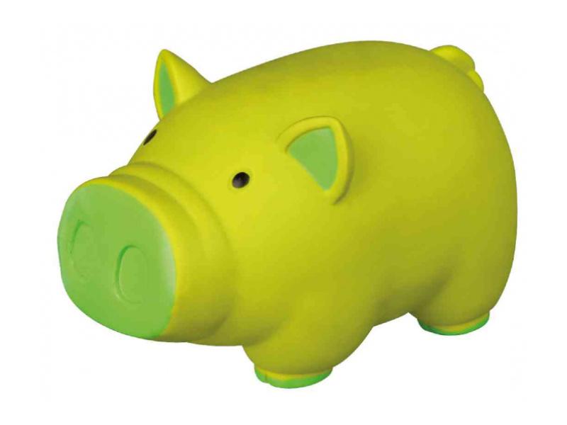 Игрушка для собак – TRIXIE Pig, animal sound, latex, 11 см