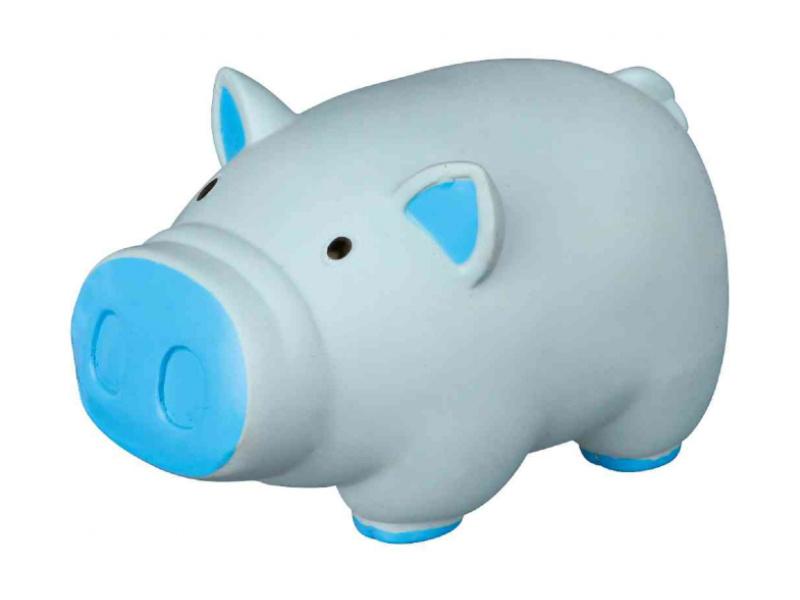 Rotaļlieta suņiem – TRIXIE Pig, animal sound, latex, 11 cm