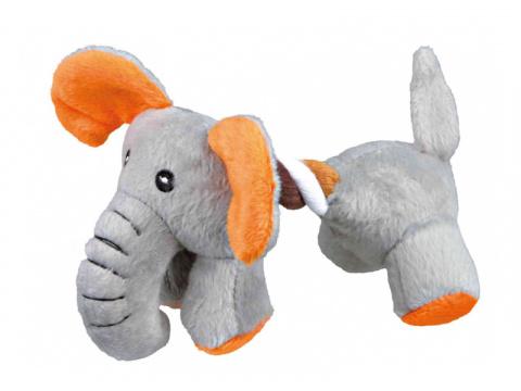 Rotaļlieta suņiem – TRIXIE Plush and Rope animals title=