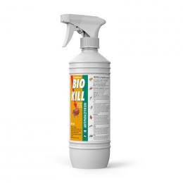 Средство от блох, клещей, эктопаразитов - BIO KILL, 2,5 мг / 1 мл, 500 мл, безрецептурный препарат reģ. NR - VA - 072463/3