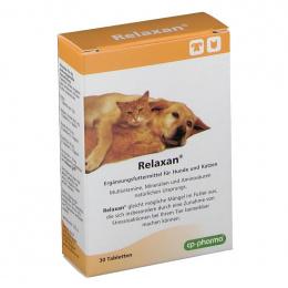 Nomierinošs līdzeklis kaķiem un suņiem - Relaxan, 30 tabletes