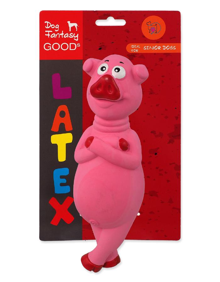 Игрушка для собак – Dog Fantasy Good's Latex Pig, 21 см