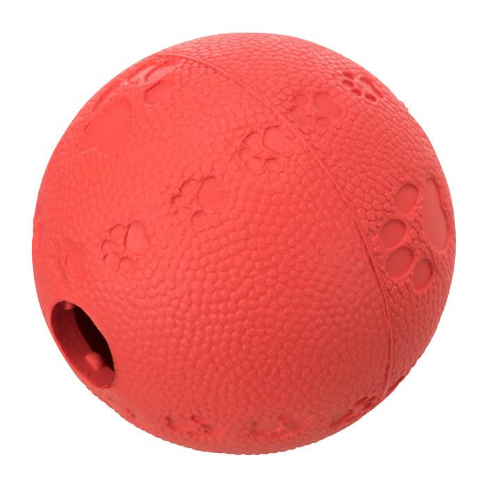 Игрушка для кошек – TRIXIE Cat Activity Snack ball, natural rubber, 6 см
