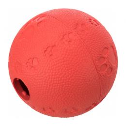 Rotaļlieta kaķiem – TRIXIE Cat Activity Snack ball, natural rubber, 6 cm