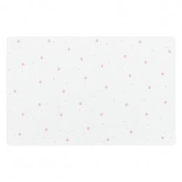 Paliktnis zem bļodām – TRIXIE Place Mat paw prints, 44 x 28 cm, white