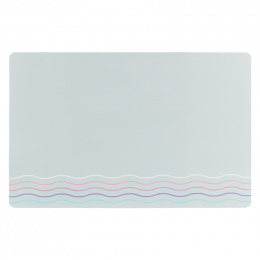 Paliktnis zem bļodām – TRIXIE Place Mat waves, 44 x 28 cm, grey