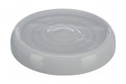 Bļoda kaķiem – TRIXIE Drinking bowl, ceramic, 0,2 l/18 cm, grey