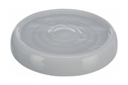Миска для кошек – TRIXIE Drinking bowl, ceramic, 0,2 л/18 см, grey