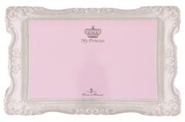 Paklājiņš zem bļodas – TRIXIE Place Mat My Princess, 44 x 28 cm, Pink
